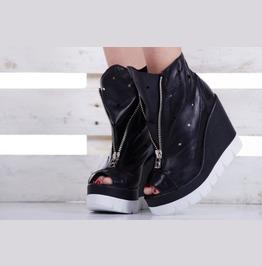 Summer Genuine Leather Platform Boots/Must Have Platform Boots