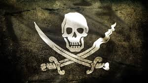 Jolly roger pirate style