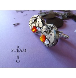 Steampunk Cufflinks Steamretro