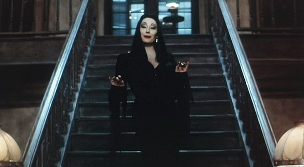 Makeup tutorials queenking sfx morticia addams makeup