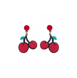 Voodoo Vixen Cherry On Top Earrings