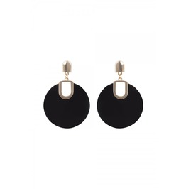 Voodoo Vixen Retro Disk Earrings