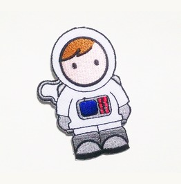 Embroidered Astronaut Nasa Iron On Patch