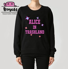Alice In Wonderland Trashland Japan Sweatshirt Unisex