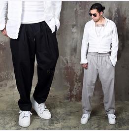 Loose Fit Wool Pants 189