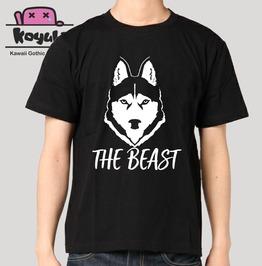 The Beast Wolf T Shirt Gothic Emo Harajuku Unisex