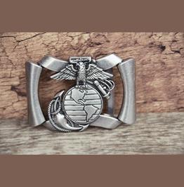 Belt Buckle Solid Metal Alloy Buckle Eagle Antique Silver Color