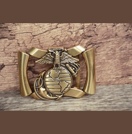 Solid Metal Alloy Buckle Eagle Gold Color