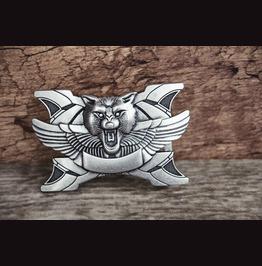 Belt Buckle Solid Metal Alloy Buckle Scorpion Vintage Silver Color