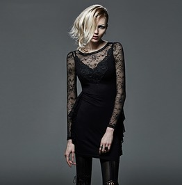 High Quality Sexy Expensive Young Ladies Evening Gothic Dresses