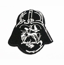 Star Wars Darth Vader's 'the Dark Knight' Embroidered Iron On Patch.