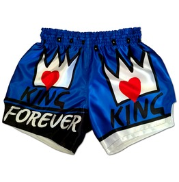 Boxing Shorts ♚King Forever Royal Blue Vasyl Lomachenko Gym Fitness Trunks