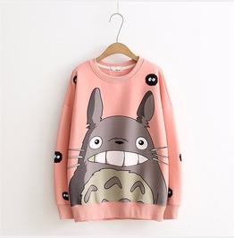 Totoro Sweatshirt Sudadera Wh047