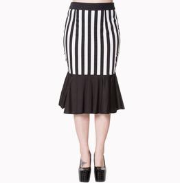 Banned Apparel Heart To Heart Midi Skirt