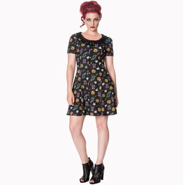 Banned Apparel Midnight Orchid Dress
