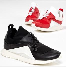 Contrast Bending Sneakers 412