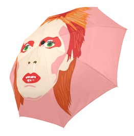 Bowie Automatic Umbrella . Original Illustration