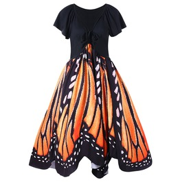 Butterfly Dress / Vestido Mariposa Wh073