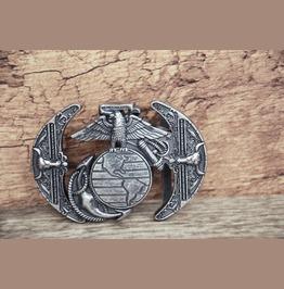 Solid Metal Alloy Buckle Eagle Anchor Retro Buckle
