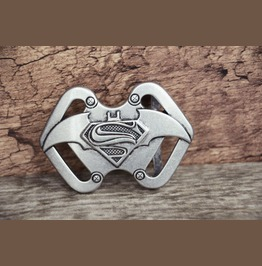 Solid Metal Alloy Belt Buckle Vintage Silver Color