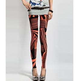Colorful Geometric Pattern Leggings Pants