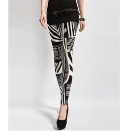 Colorful Geometric Pattern Leggings Pants