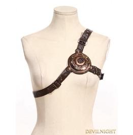 Brown Steampunk Shoulder Strap/Belt Sp 074