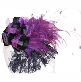 Violet Rooster Handmade Mini Top Hat