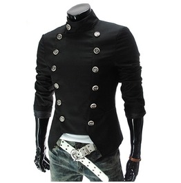 Double Breasted Casual Slim Men Suit