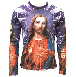 Jesus Chirst Religion Rock Star Tattoo Vintage T Shirt