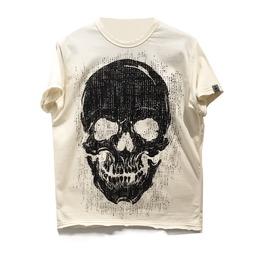 Pirate Skull T Shirt Men Snake Legend