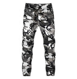 Cool Camouflague Trousers Elasticated Waist Size Med/Large Uk Size 12/14 Us