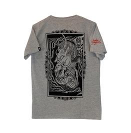 Dragon In Flames T Shirt Men Snake Legend