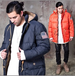 [Special Price] Classy Simple Padded Hooded Jacket 313