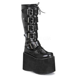 Demonia Mens Cyber Punk Gothic Huge Platform Industrial Boots