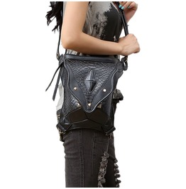 Uxisex's Steampunk Messenger Shoulder Bag Vintage Mini Waist Bags