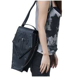 Uxisex's Steampunk Skull Rivet Deco Shoulder Bags Travel Cross Body Bag