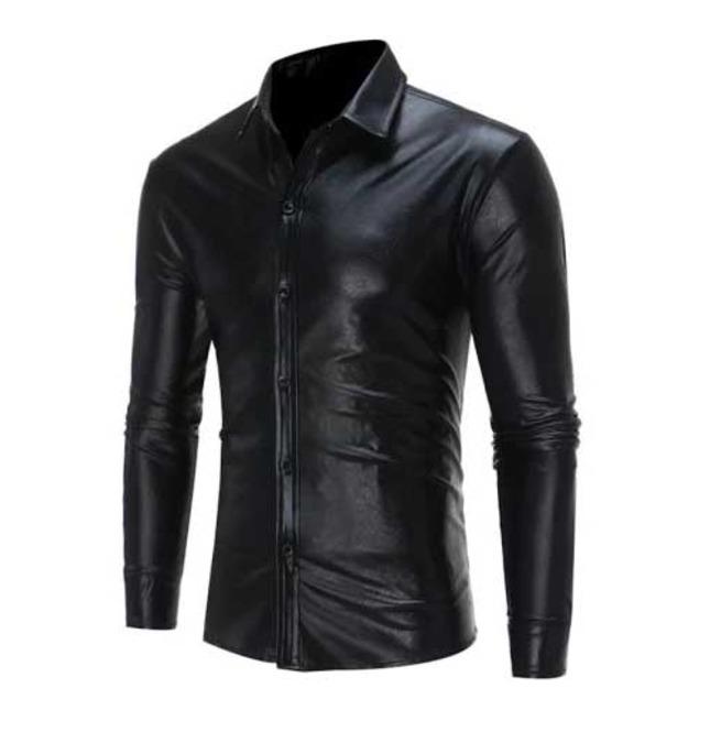 rebelsmarket_mens_black_metallic_shiny_gothic_button_up_dress_shirt_5_to_ship_shirts_3.jpg