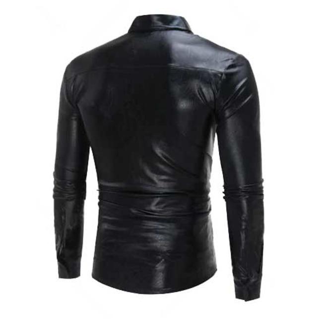 rebelsmarket_mens_black_metallic_shiny_gothic_button_up_dress_shirt_5_to_ship_shirts_2.jpg
