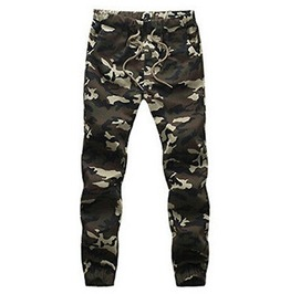Cool Camouflague Trousers Elasticated Waist Size Med/Large Us Size 8/10