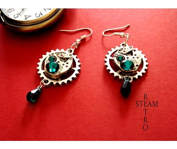 vintage_watch_movement_emerald_steampunk_earrings_earrings_4.jpg