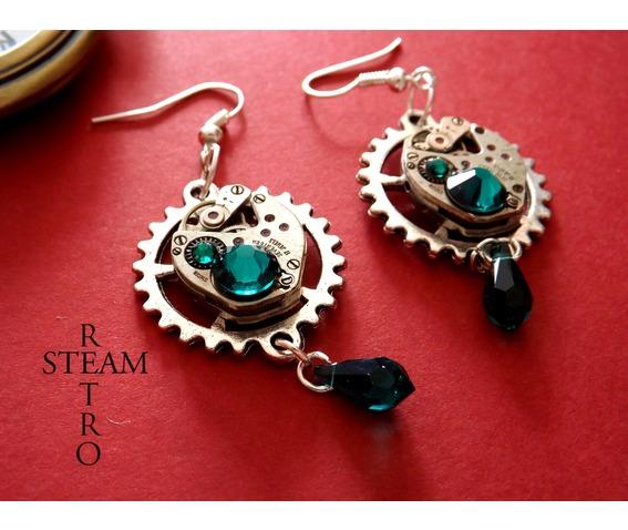 vintage_watch_movement_emerald_steampunk_earrings_earrings_3.jpg