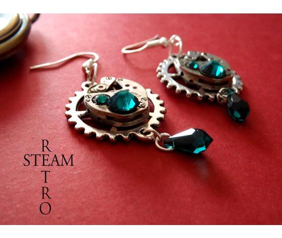 vintage_watch_movement_emerald_steampunk_earrings_earrings_2.jpg