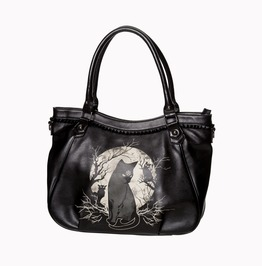 Banned Apparel Hecate In Full Moon Hand Bag