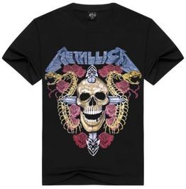 Men Printed Skull T Shirts D43