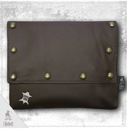 "Belt Bag ""Knight Brown"" Extraordinary Gothic Bag"