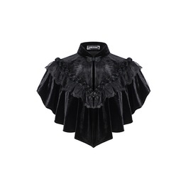 Bw043 Gothic Hearted Shaped Cape