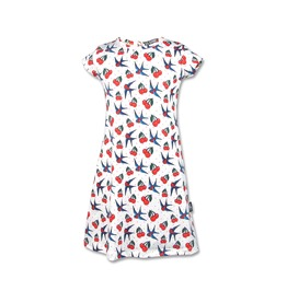 Cherry Birds Short Sleeve