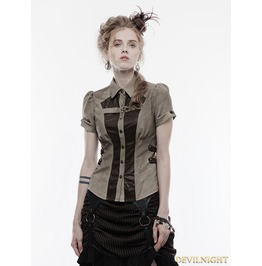 Gothic Handsome Punk Shirt For Women Wy 827 Co