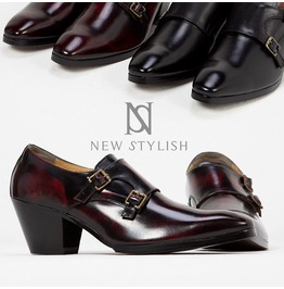 Double Monk Strap High Heel Shoes 423